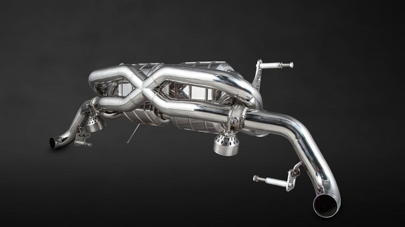 Capristo X-Pipe Sports Exhaust (V8 Facelift) Image 9