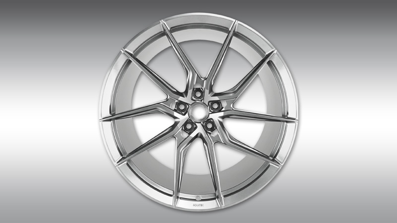 Type NF8 Directional Forged Wheels - Gloss Silver 20/21 J Image 1