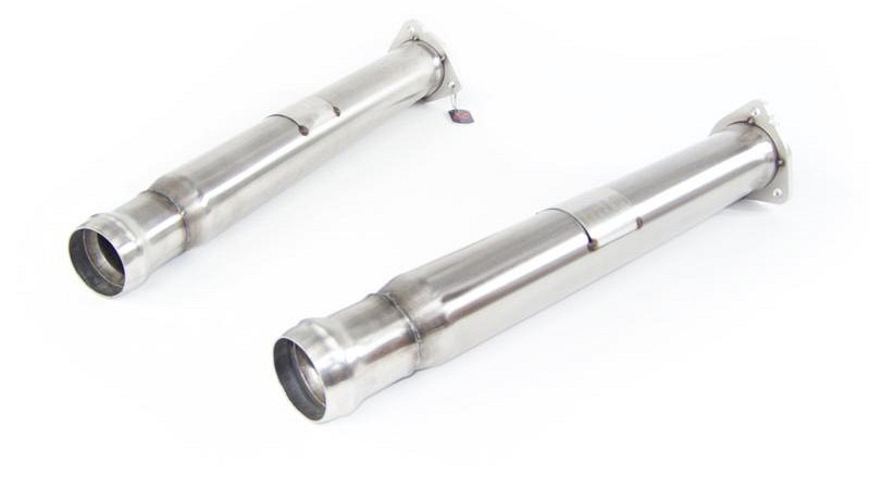 Quicksilver Secondary Catalyst Replacement Pipes (2004 on) Image 1