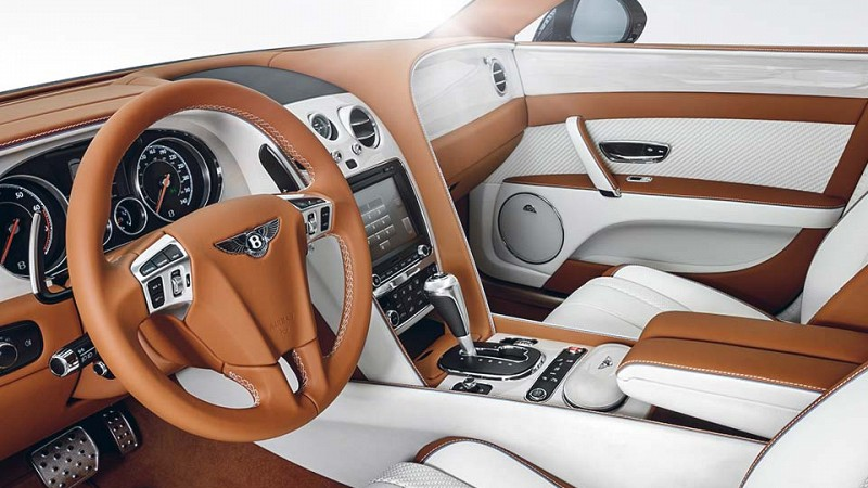 STARTECH Wood decor trim for Bentley Continental GTC Image 1