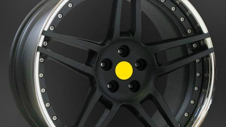 Type NF3 Aluminium Wheel Star Black Image 2