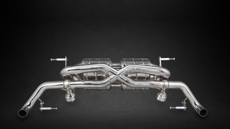 Capristo X-Pipe Sports Exhaust (V8 Facelift) Image 10