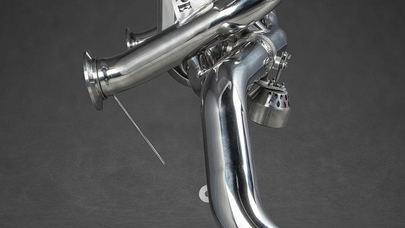 Capristo X-Pipe Sports Exhaust (V8 Facelift) Image 7