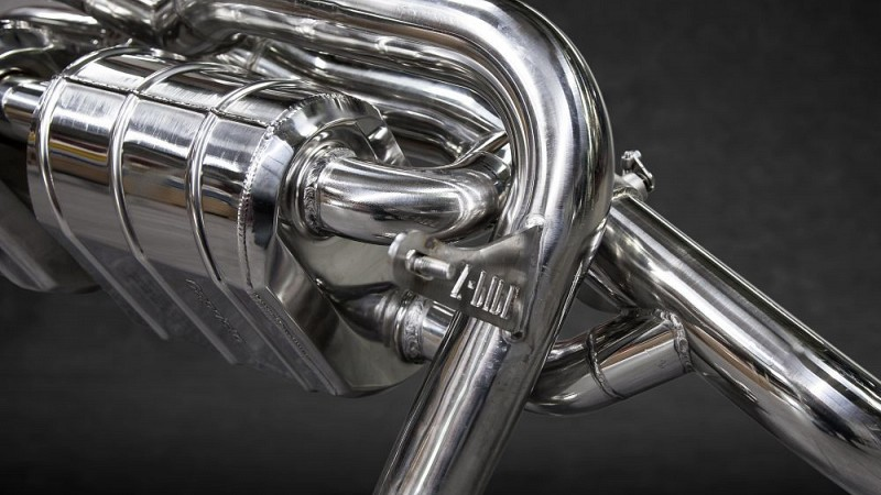 Capristo X-Pipe Sports Exhaust (V8 Facelift) Image 3