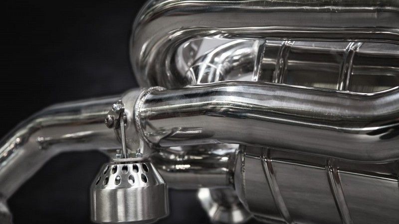 Capristo X-Pipe Sports Exhaust (V8 Facelift) Image 4