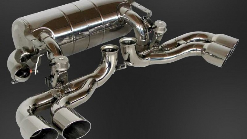 Power-Optimized Exhaust System (with flap-regulation) Image 2