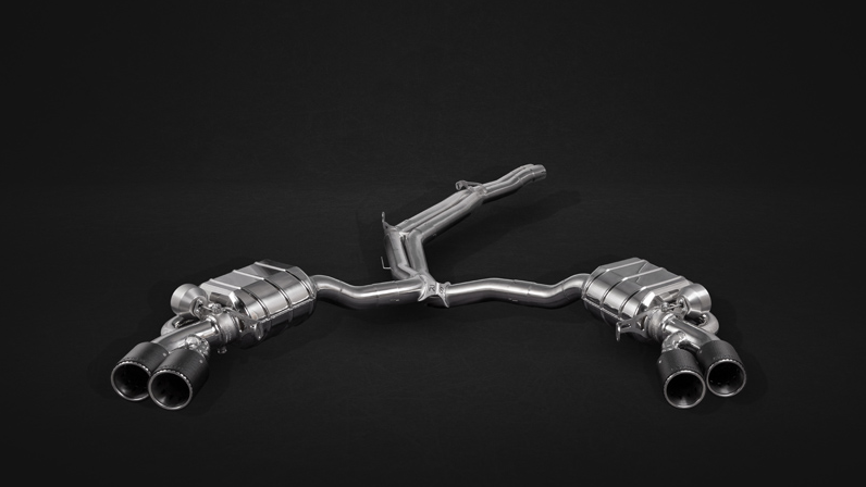 Capristo Sports Exhaust (8W/B9) Image 1