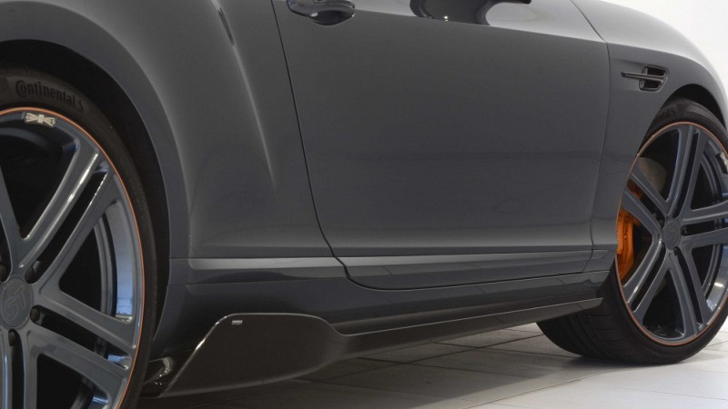 STARTECH carbon sideskirt for Bentley Continental GTC Image 1