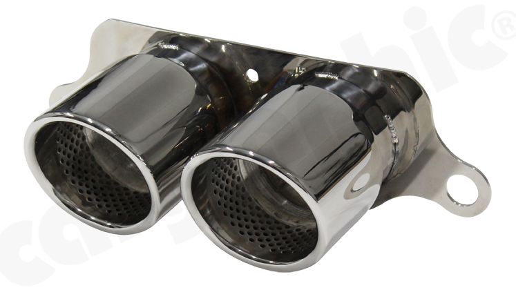 Stainless Steel Tailpipes - GT3 RS Image 3
