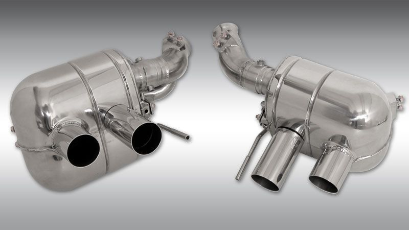 Power Optimized Exhaust System (with flap regulation) Image 1