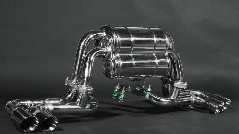 Capristo Twin Sound Sports Exhaust Image 2