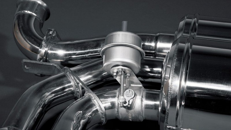 Capristo Sports Exhaust with Valves Image 2