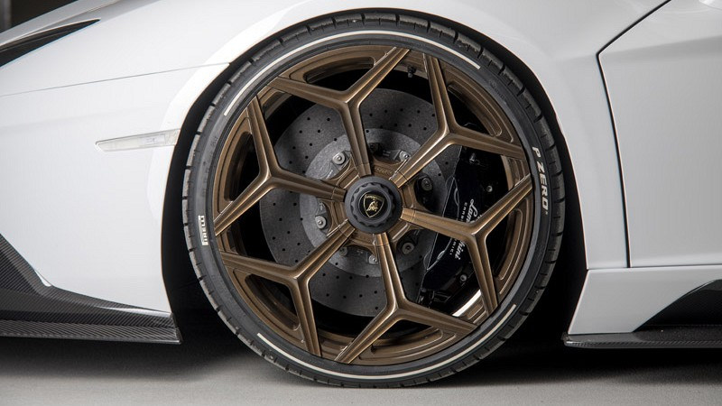 Aluminium wheel type NL3 forged (inc.central locking) Image 1