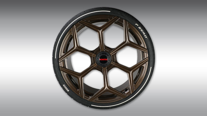 Aluminium wheel type NL3 forged (inc.central locking) Image 2
