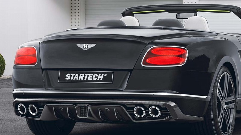 Startech Carbon rear skirt add-on part Image 1