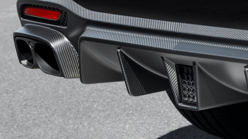 Rear Skirt (Carbon) Image 2