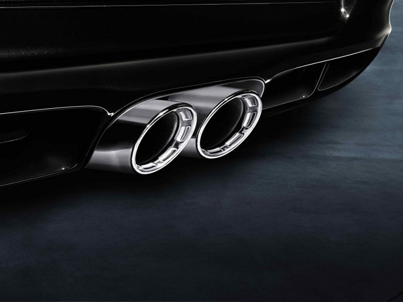 Sports exhaust system without sports tailpipes Image B