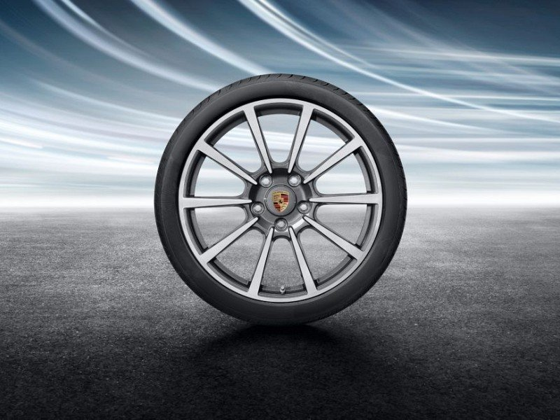 20-inch Carrera Classic summer wheel-and-tyre set Image B