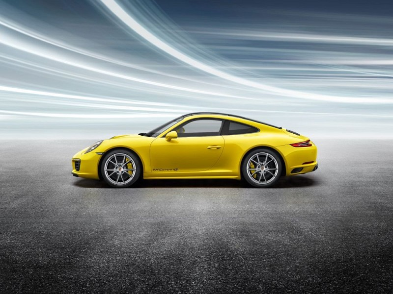20-inch Carrera S summer wheel-and-tyre set Image C