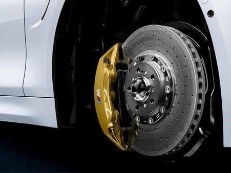 BMW M carbon ceramic brake system Image B