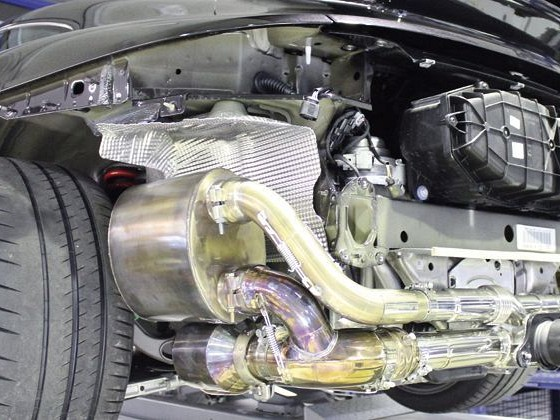 Sport Exhaust System Kit 3 Lightweight Image 3