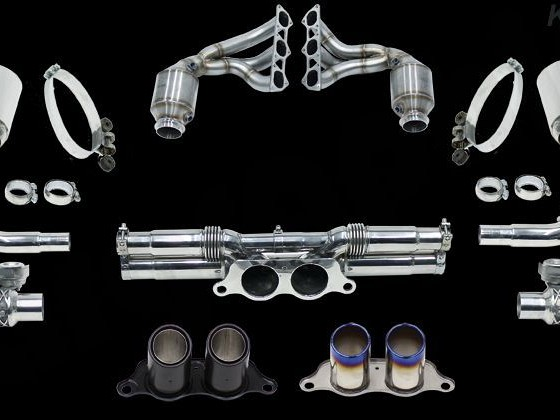 Sport Exhaust System Kit 3 Lightweight Image 1
