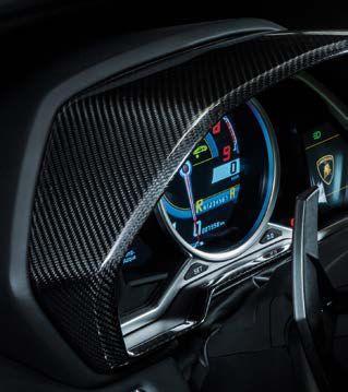 Accessories Carbon Fiber Dashboard Kit For Lamborghini Murcielago