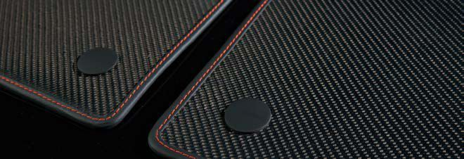 Accessories Carbon Fiber Floor Mats For Lamborghini
