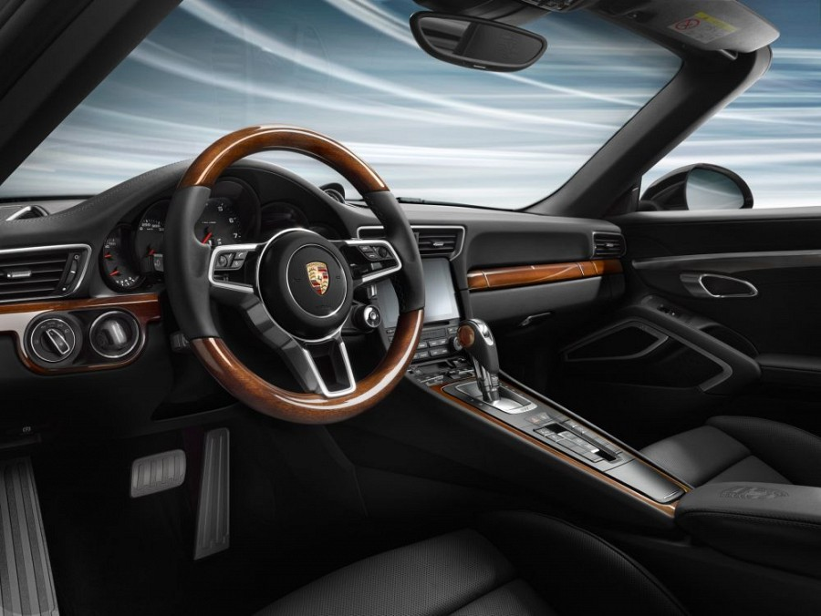 Accessories Mahogany Interior Package For Porsche 991 Mk Ii Turbo Cabriolet Turbo S