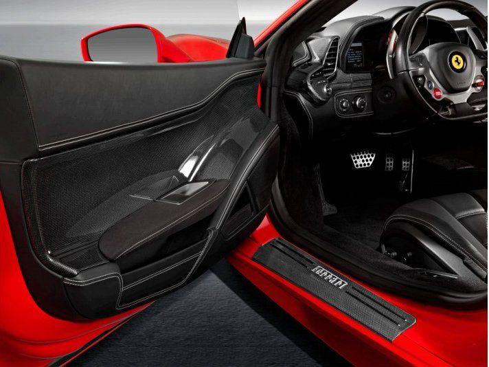 Accessories   Door Panels (Carbon Fibre) for Ferrari 458 ...