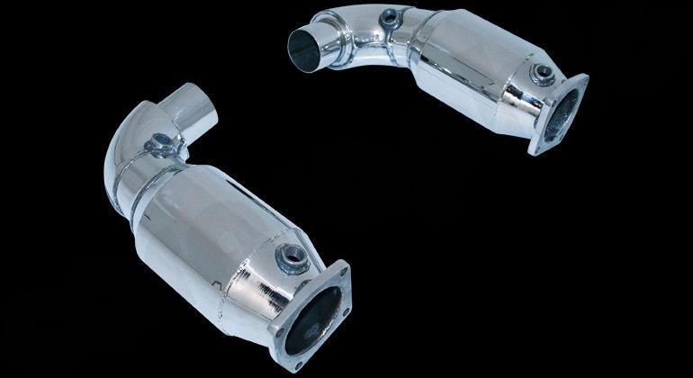 Cargraphic Sport Catalytic Converter Set For Porsche 911