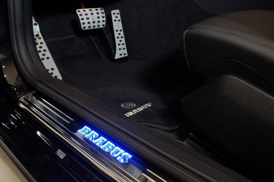Velour Floor Mats From Brabus Mercedes Benz Cls63 Amg