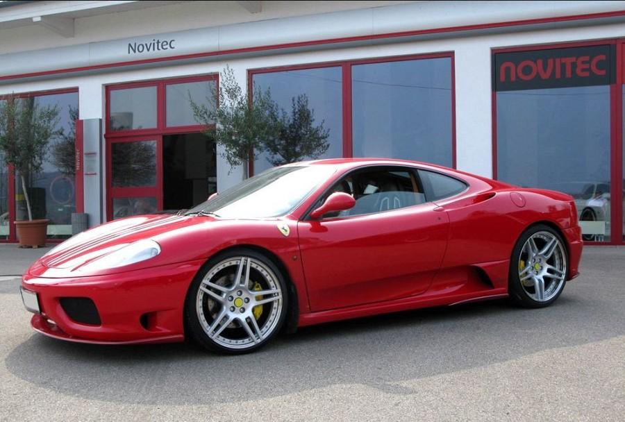 Novitec Type Nf3 Aluminium Wheel Star Silver For Ferrari 360 Scuderia Car Parts