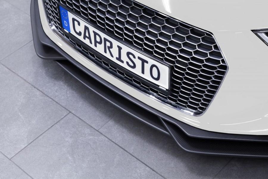 Capristo Front Spoiler in Carbon - Audi R8 V10 (Second