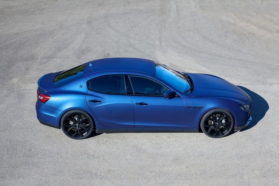 Novitec Tridente Type Nm1 Matte Black Wheels For Maserati Ghibli