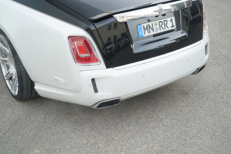 Carbon Rear Bumper for the Rolls Royce Phantom | Scuderia ...