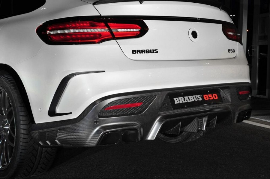 Brabus Rear Skirt Mercedes Benz Gle 63 Amg Coupe