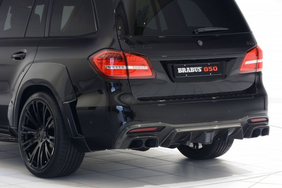 Brabus Rear Skirt In Carbon Mercedes Benz Gls 63 Amg Scuderia