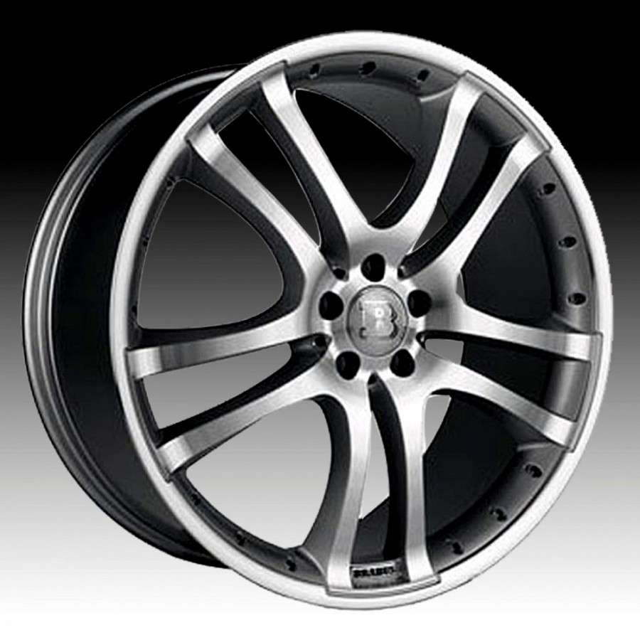 brabus monoblock s wheels silver polished for the. Black Bedroom Furniture Sets. Home Design Ideas