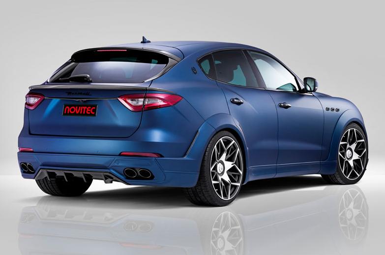 Novitec Esteso Full Conversion Kit For The Maserati Levante
