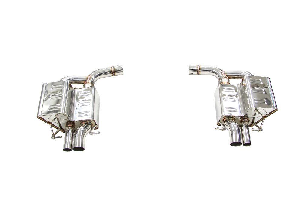 ipe innotech performance exhaust for mercedes