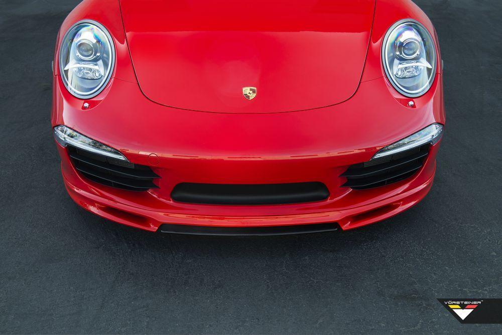 vorsteiner v gt front spoiler for porsche 911 991 carrera scuderia car parts. Black Bedroom Furniture Sets. Home Design Ideas
