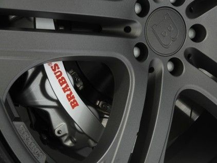 High performance brake system version ii from brabus for High performance parts for mercedes benz