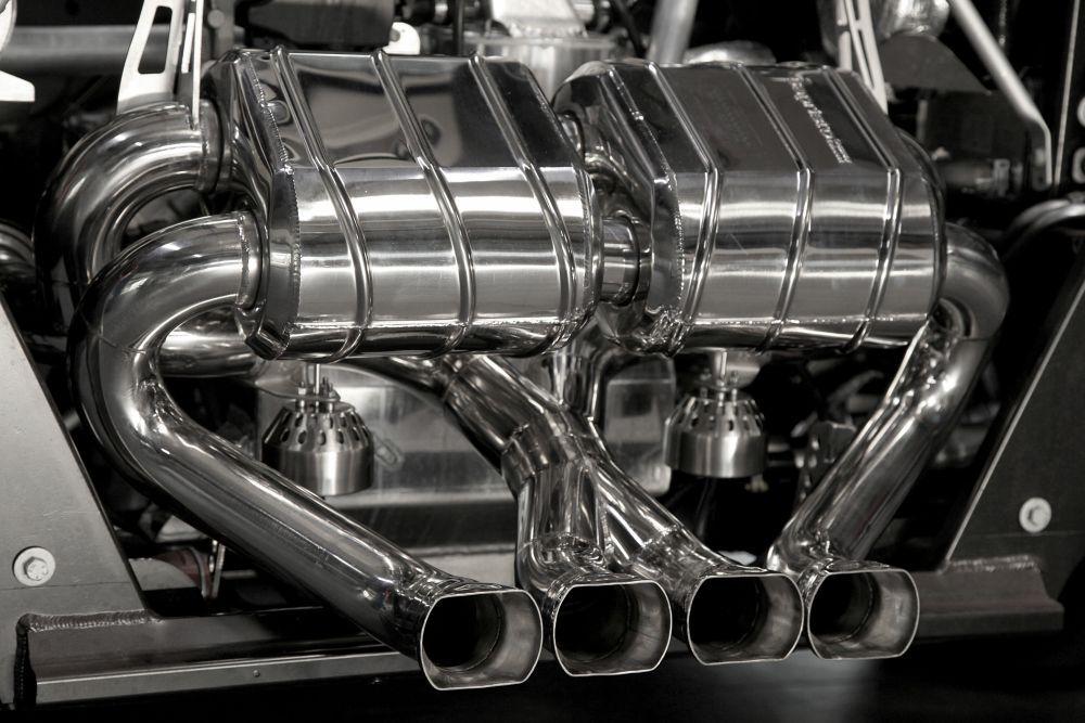 capristo sports exhaust for lamborghini aventador lp750 4 sv roadster scuderia car parts