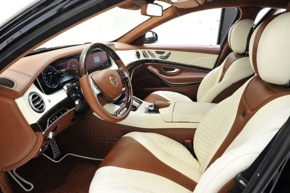 Brabus Fine Leather Alcantara Interior Trim Mercedes Benz S Class W V 222 Scuderia Car Parts