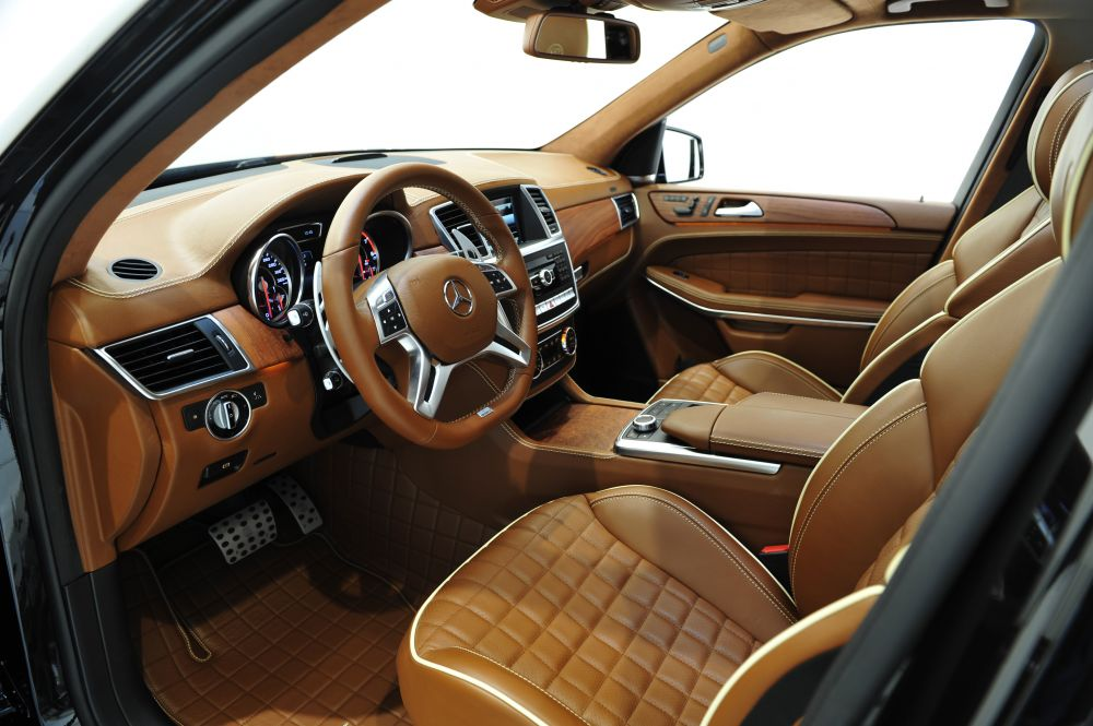 Brabus Fine Leather Alcantara Interior Trim Mercedes Benz Gl Class X166 Scuderia Car Parts