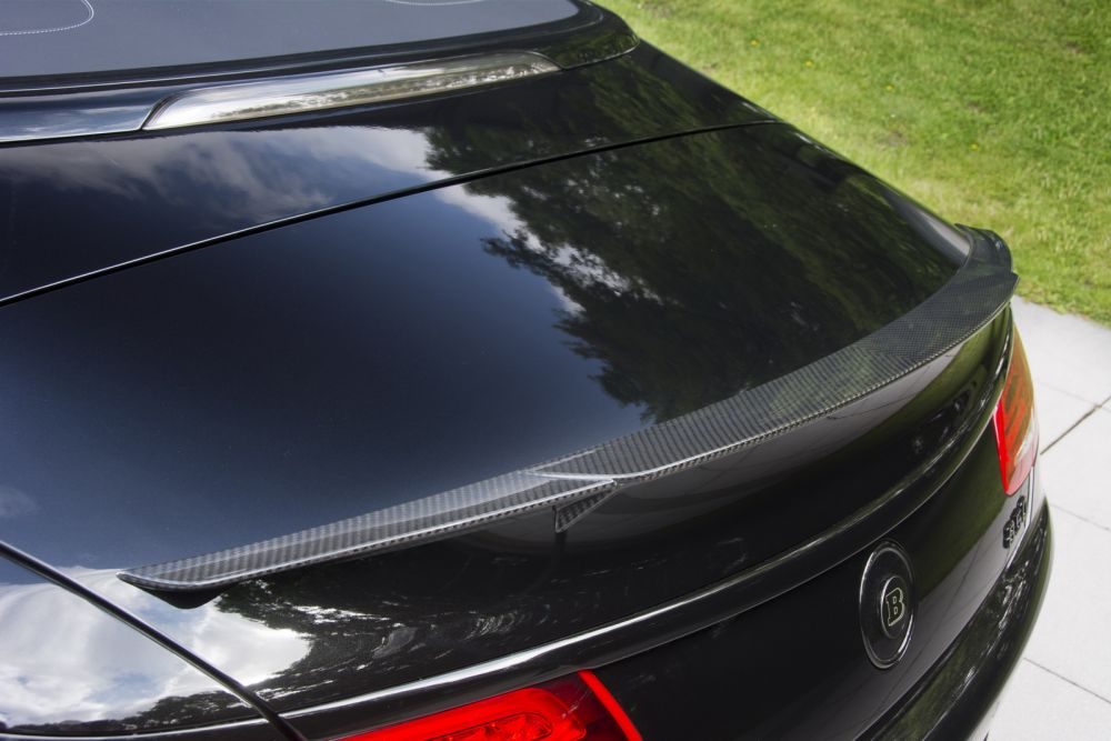 Rear Spoiler In Carbon From Brabus Mercedes Benz S63 S65