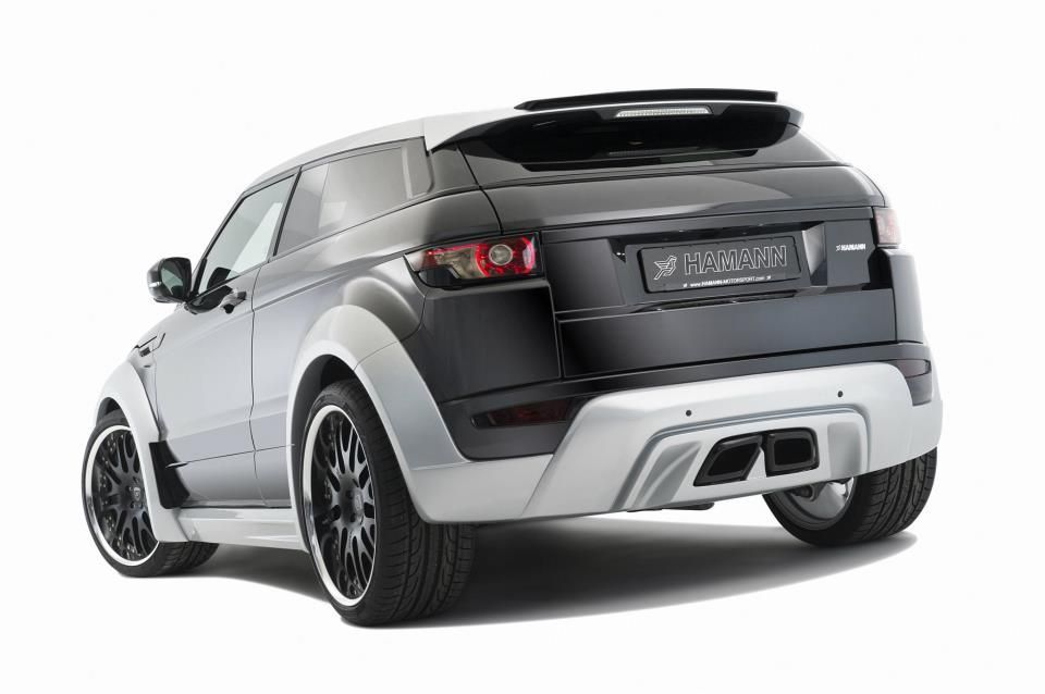 hamann wide body kit for range rover evoque scuderia car. Black Bedroom Furniture Sets. Home Design Ideas