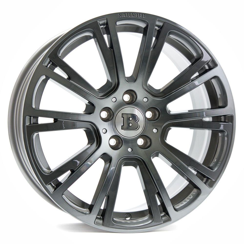 E320 Mercedes Platinum: Brabus Monoblock R Wheels (Titan Polished) For The