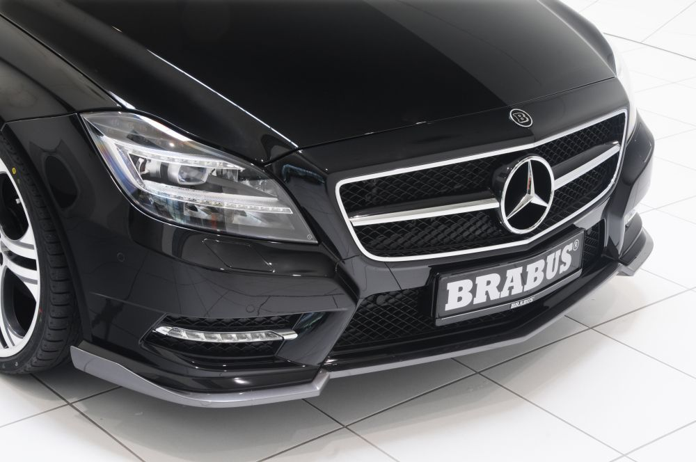 front spoiler from brabus mercedes benz cls class amg. Black Bedroom Furniture Sets. Home Design Ideas